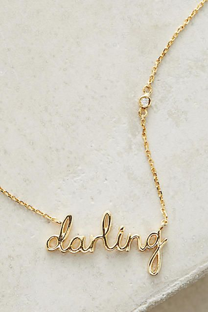 Darling Necklace - anthropologie.com
