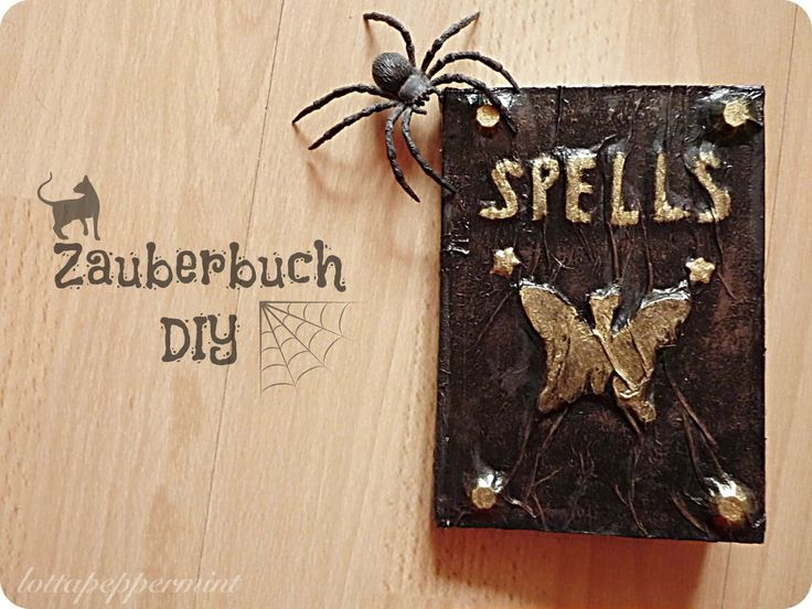 Harry Potter Zauberbuch DIY. ** Harry Potter Spellbook.