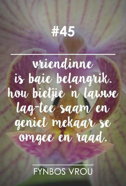 __[Fynbos Vrou/FB] # 45 #Afrikaans  -  Vriendinne#Friends