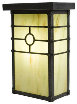 Steel Partners Lighting 2152-WET Wet Sconce - HISTORIC CALIFORNIA rustic-outdoor-lighting