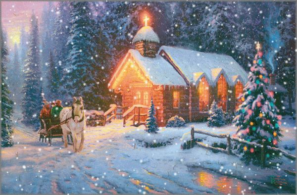 kinkade-church-SNOW.gif (600×394)