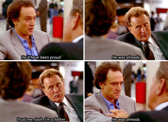 At the beginning. | 28 Jed Bartlet Moments We All Need To Be Reminded Of Right Now