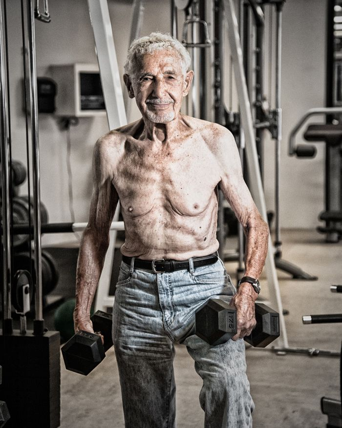 50 year old weight lifters