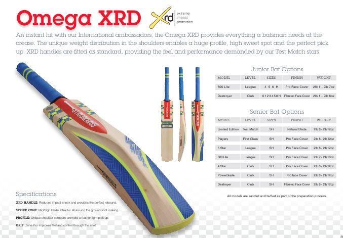 Gray Nicolls Cricket Bat Range 2016