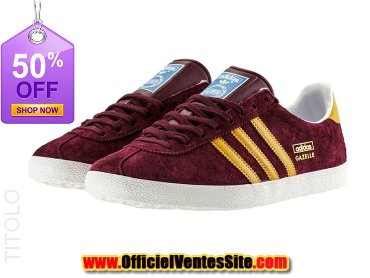 new-adidas-gazelle-og-chaussures-nike-running-pas-cher-pour-homme-rouge-or-14474-1216.jpg (800×600)