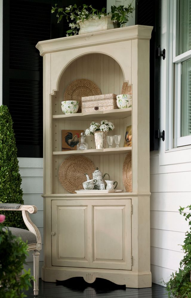 Universal Furniture Paula Deen Home Paula Deen Corner Cupboard In Sea Oat. Dining  Room CabinetsCorner ...