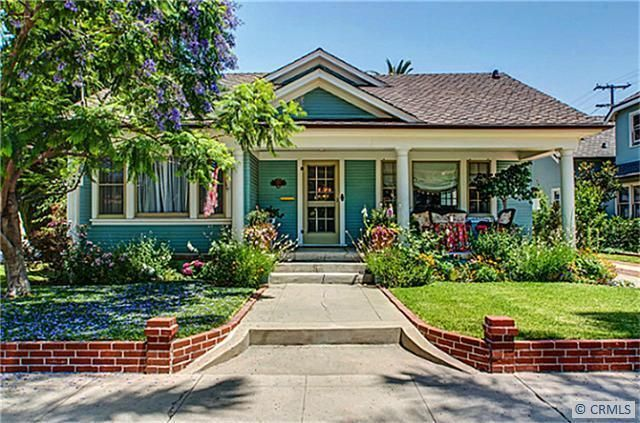 Charming California Bungalow Home Orange California And