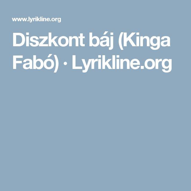 Diszkont báj (Kinga Fabó) · Lyrikline.org