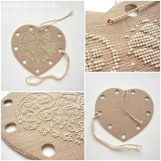 Heart Stitcher Thread Pallet - Photo Tutorial
