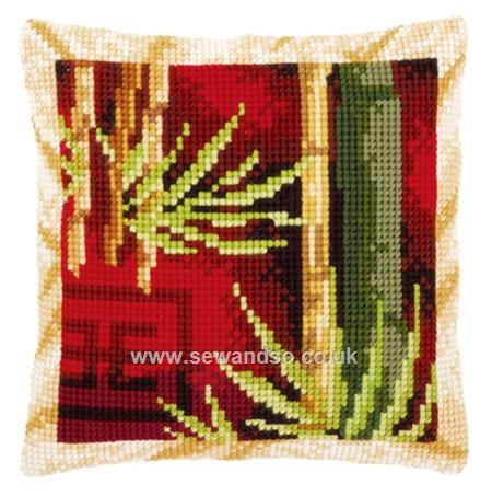 Shop online for Bamboo I Cushion Front Chunky Cross Stitch Kit at sewandso.co.uk. Browse our great range of cross stitch and needlecraft products, in stock, with great prices and fast delivery.
