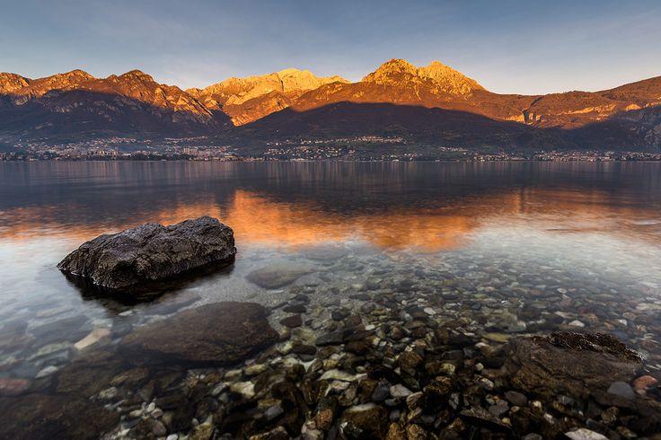 Lake Como - Sunset over Lake Como, Italy. My website: www.robertomelotti.net