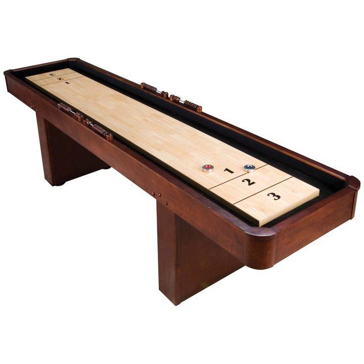 Great Mahogany Shuffleboard Table   F1147