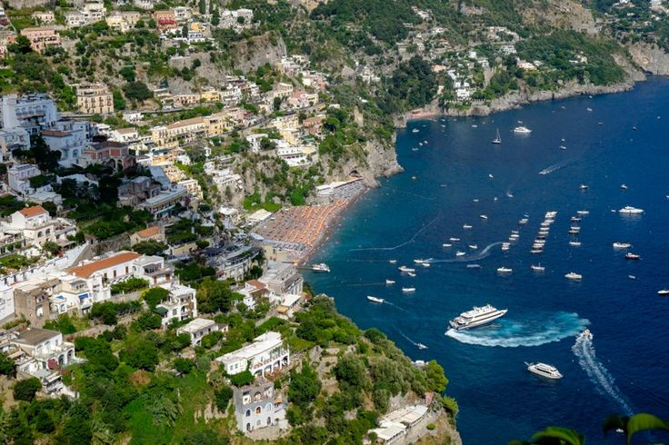 Positano,in the summer