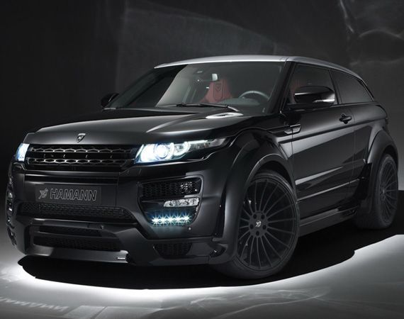 Range Rover Evoque Coupe Tuned | By HAMANN-Motorsport
