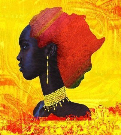 Africa and African woman!