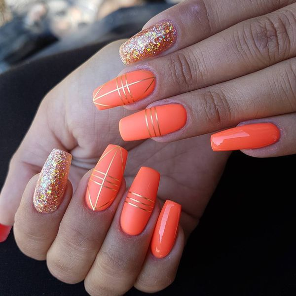 Elegant Coral Nail Designs For The Season With Images Coral