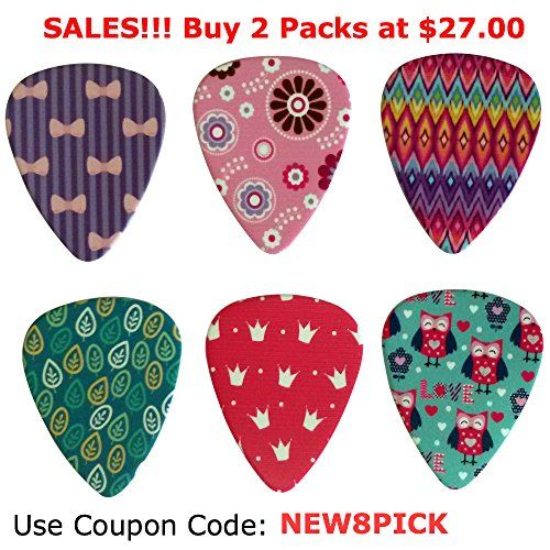 Girly Guitar Picks Set – Medium Size Celluloid 12-pack – Unique Colorful Designs – Best Gifts for Girls Kids Teens Daughter Granddaughter Niece Women – Great Thanksgiving Christmas New Year Holidays Presents  http://www.instrumentssale.com/girly-guitar-picks-set-medium-size-celluloid-12-pack-unique-colorful-designs-best-gifts-for-girls-kids-teens-daughter-granddaughter-niece-women-great-thanksgiving-christmas-new-year-holidays-p/