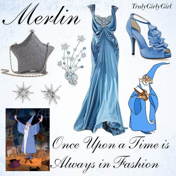 Disney Style: Merlin, created by trulygirlygirl on Polyvore