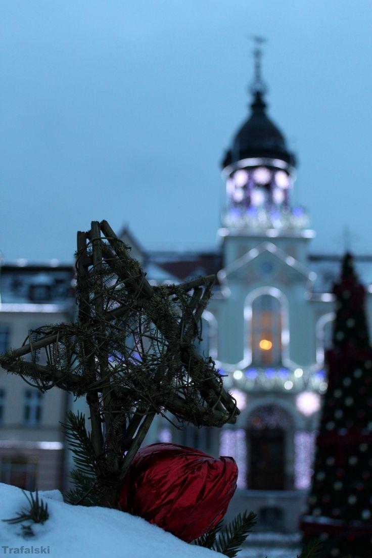 Wejherowo - Rynek , ratusz , gwiazdka #Wejherowo #ratusz #gwiazdka #Photography #ILovePhoto