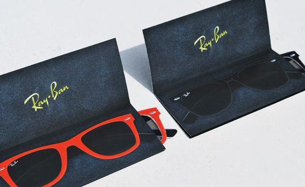 EXAMPLE: Direct Mail piece __________Ray-Ban Campaign on Behance