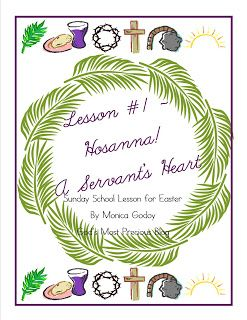 God's Most Precious: Easter Sunday School Lesson 1 {PRINTABLE}