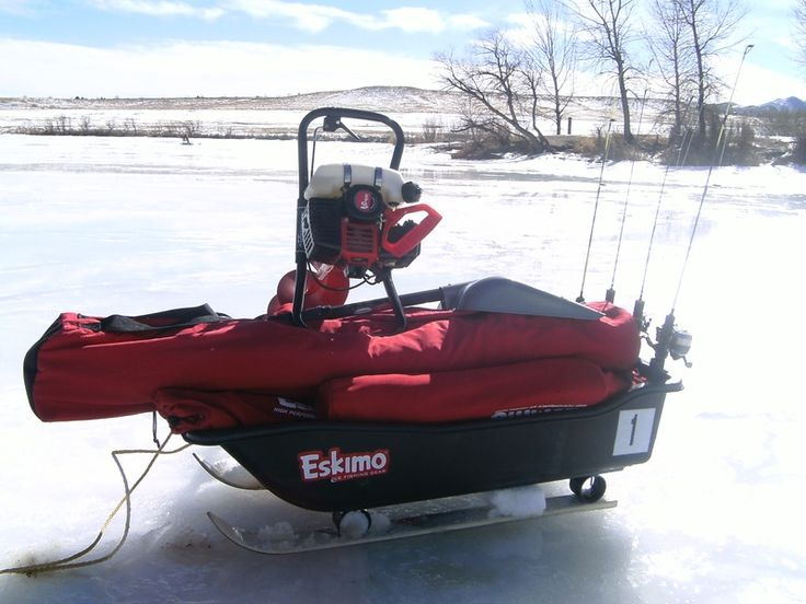 1000 images about ice fishing on pinterest pvc pipes for Ice fishing snowmobile