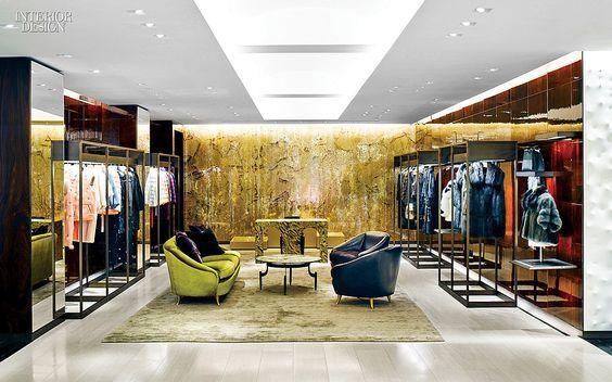 FENDI Flagship, Italy | Retail Interior Design, Retail Design #luxuryretailstores #retailfurniture #retailinteriordesign See more retail projects http://brabbucontract.com/projects