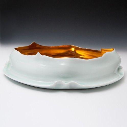 Takeshi Yasuda - Large Bowl with Gold
