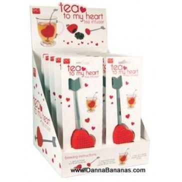 Show Mom some love: http://www.dannabananas.com/tea-to-my-heart-tea-infuser/