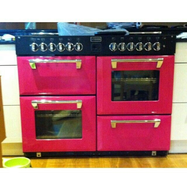 Pink Stove U0026 Oven! Pink Pink PinkPink BlackHot PinkKitchen AppliancesKitchen  ...