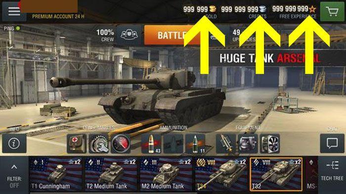 Pin on World of Tanks Blitz MOD APK