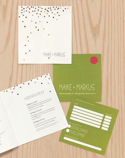 Papeterie, Hochzeitspapeterie, Karten, Einladung