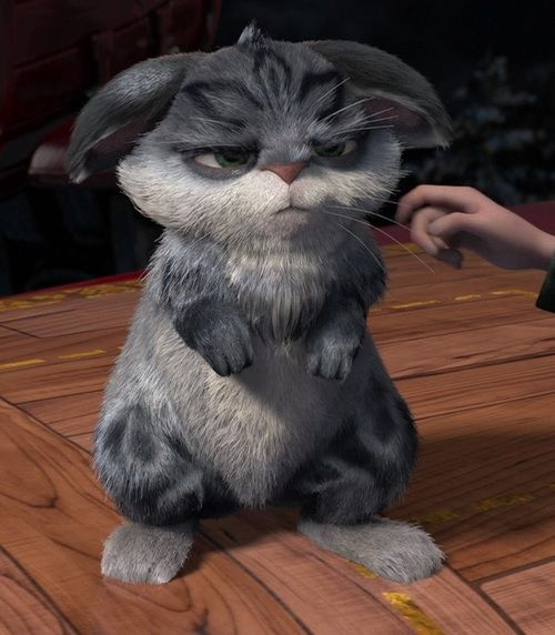 Cute Bunnymund 2 - Bunny is Not Amused