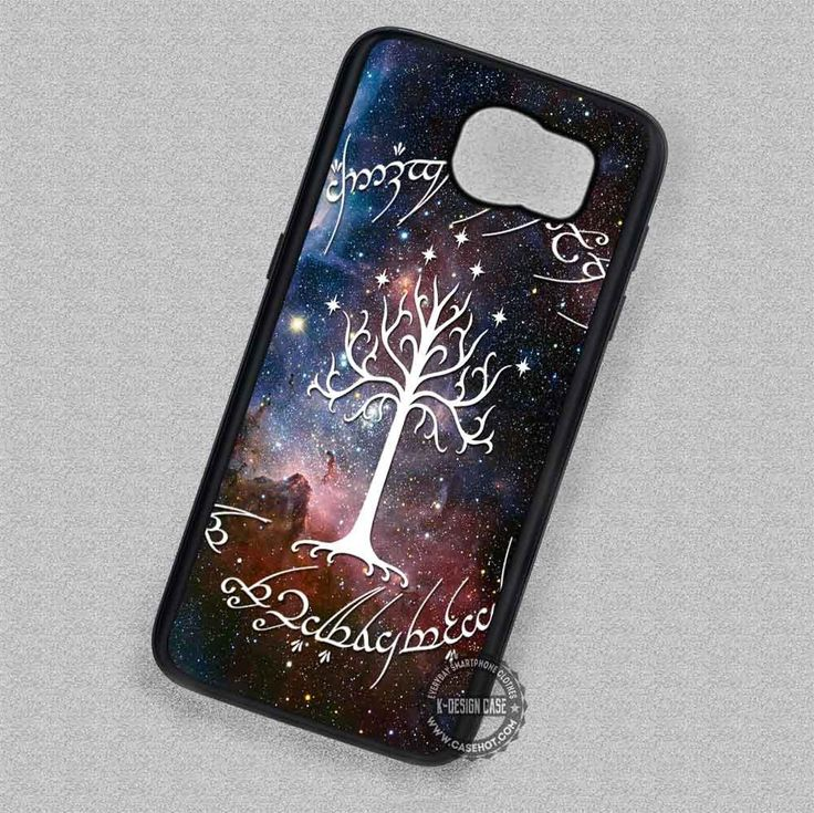 Tree Circle Symbol on Nebula - Samsung Galaxy S7 S6 S5 Note 7 Cases & Covers