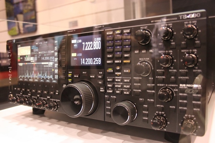 kenwood ts990s on display at hamvention looked awesome. Black Bedroom Furniture Sets. Home Design Ideas