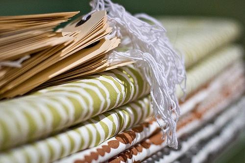Raindrops organic cotton/hemp upholstery weight fabric