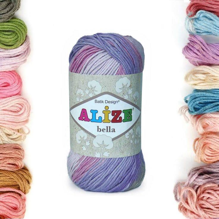 Alize Bella batik, %100 Cotton yarn, Crochet yarn, knitting yarn, baby yarn, soft yarn, hypoallergenic yarn, sport, cotton yarn, toy yarn by TURKISHYARNSS on Etsy