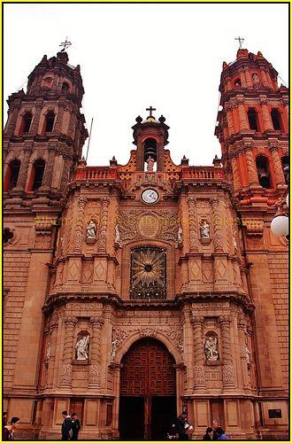 Catedral Metropolitana de San Luis Potosi,San Luis Rey,San Luis Potosi,México