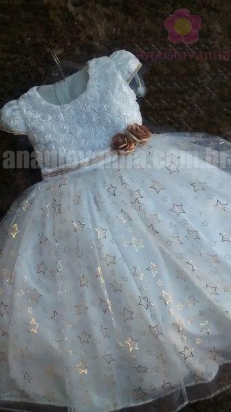 Vestido Infantil de Festa Pequena Dama | Ana Giovanna - Moda Infantil Feminina