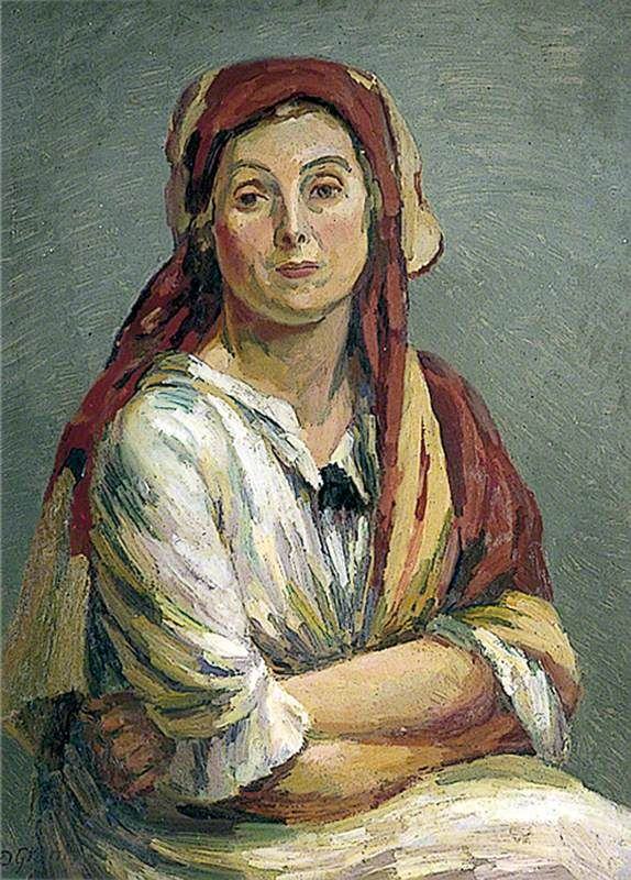 Duncan Grant - Helen Anrep in Turkish Costume