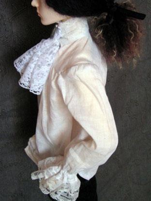 Французская мужская рубашка 17 века