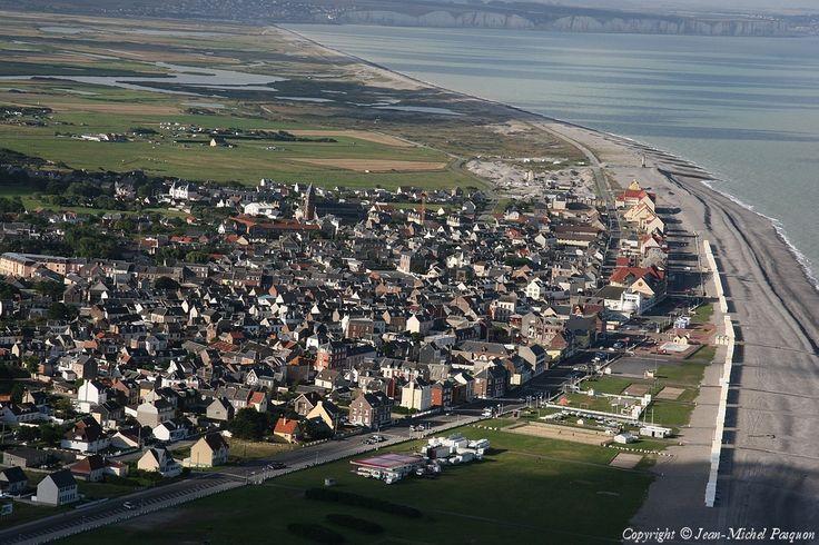 cayeux-sur-mer france | Photo aérienne de Cayeux-sur-Mer - Somme (80)