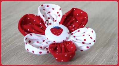 Blütenzauber: Stoffblumen - KINDERleicht und schön | Nähen mit Cherry & Äpplegrön