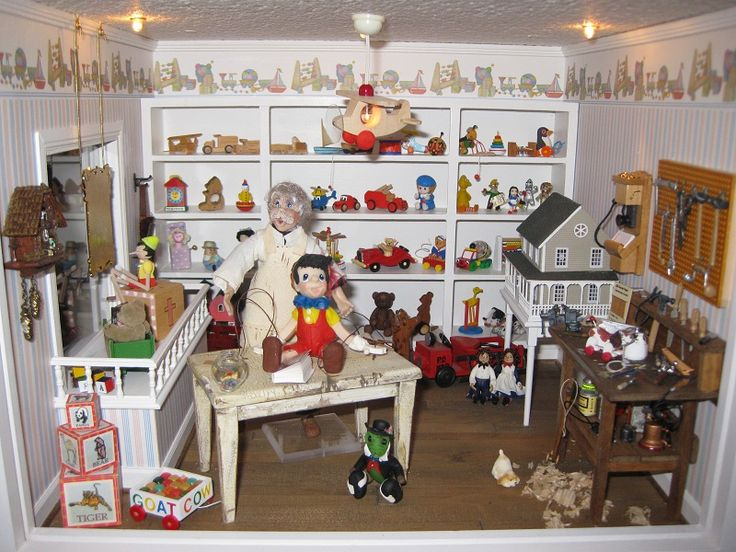 Toys For Tots Ideas : Best dollhouse miniature room boxes images on