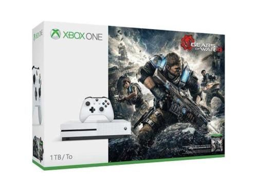 New Xbox One S 1TB Console - Gears of War 4 Bundle with 2 Additional Games - $250  FS Newegg via eBay #LavaHot http://www.lavahotdeals.com/us/cheap/xbox-1tb-console-gears-war-4-bundle-2/179892?utm_source=pinterest&utm_medium=rss&utm_campaign=at_lavahotdealsus