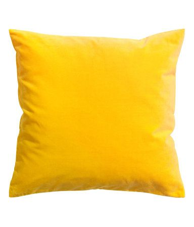 H&M velvet cushion cover $10 also light grey, purple, red, lilac, and green