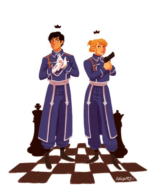 Crossovers King And Queen: Fullmetal Alchemist