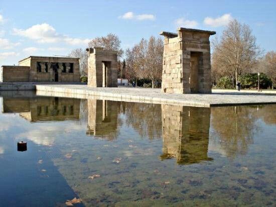 Templo de Debod #Madrid #Spain