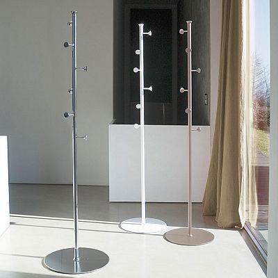 Modern metal hallway coat stand Stilo by Antonello