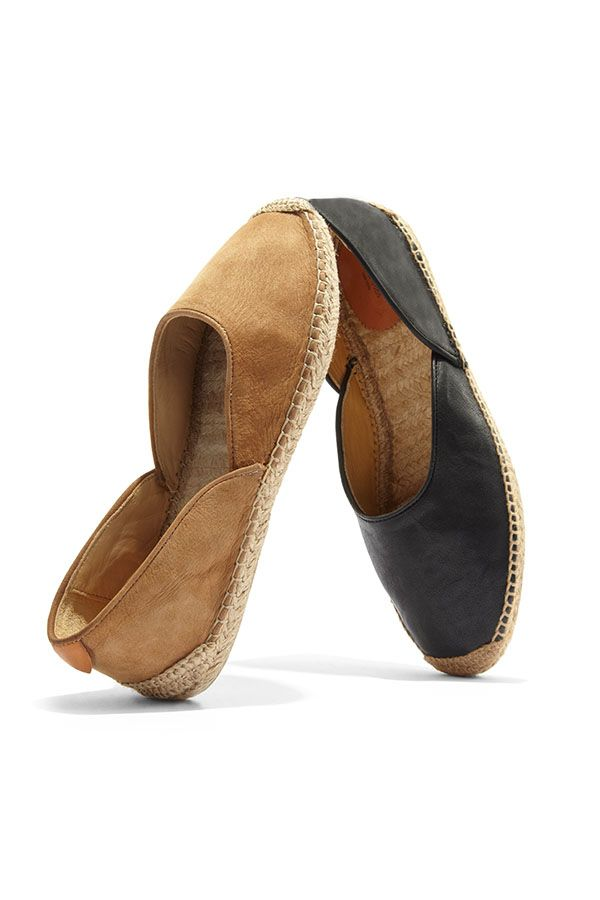 Rag & Bone's leather espadrille's were made for weekends!